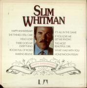 LP - Slim Whitman - Happy Anniversary