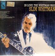 LP - Slim Whitman - In Love The Whitman Way - UK Original