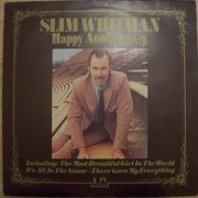LP - Slim Whitman - Happy Anniversary