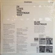 LP - Slim Whitman - In Love The Whitman Way