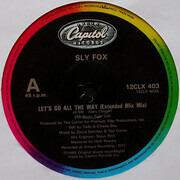 12inch Vinyl Single - Sly Fox - Let's Go All The Way