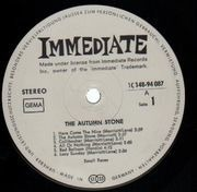 Double LP - Small Faces - The Autumn Stone - Immediate