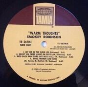 LP - Smokey Robinson - Warm Thoughts