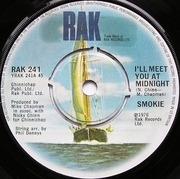 7'' - Smokie - I'll Meet You At Midnight