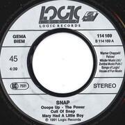 7inch Vinyl Single - Snap! - Mega Mix