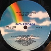 LP - Sniff 'n' The Tears - Love Action - Gloversville Pressing