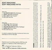 MC - Soft Machine - Fifth