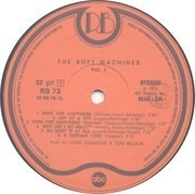 LP - Soft Machine - The Soft Machine Vol.1