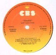 LP - Soft Machine - Fourth - textured/embossed sleeve