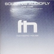 12inch Vinyl Single - Solar vs Audiofly - Live Love