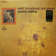 LP - Sonny Rollins - East Broadway Run Down - Still sealed, 180 Gram