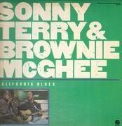 Double LP - Sonny Terry & Brownie McGhee - California Blues - Gatefold