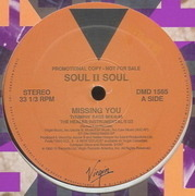 12'' - Soul II Soul - Missing You