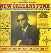 Double LP & MP3 - Eldridge Holmes / Norma Jean / Johnny Adams a. o. - New Orleans: Tghe Original Sound Of Funk Vol. 4 (Vodoo Fire In New Orleans 1951-77) - +download / Heavyweight Vinyl