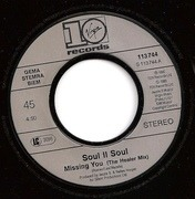 7'' - Soul II Soul - Missing You