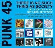 Double LP - Punk 45 Comp - There Is No Such Thing As Society - 180g