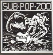 LP-Box - Soundgarden, Nirvana, Mudhoney a.o. - Sub Pop 200 - Booklet