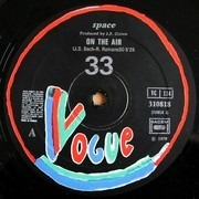 12inch Vinyl Single - Space - On The Air / Love Starring At You And Me