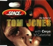CD Single - Space With Cerys Matthews - The Ballad Of Tom Jones - CD1 of 2