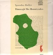 12'' - Spandau Ballet - Through The Barricades