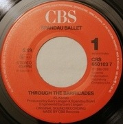 7'' - Spandau Ballet - Through The Barricades