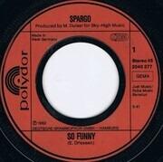 7inch Vinyl Single - Spargo - So Funny
