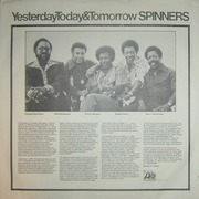 LP - Spinners - Yesterday, Today & Tomorrow - PR