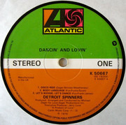 LP - Spinners - Dancin' And Lovin'