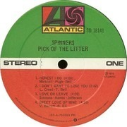 LP - Spinners - Pick Of The Litter - PR