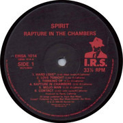 LP - Spirit - Rapture In The Chambers