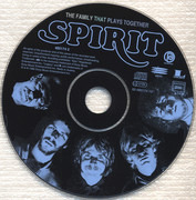CD - Spirit - The Family That Plays Together