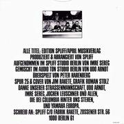 LP - Spliff - 85555