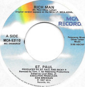 7inch Vinyl Single - St. Paul - Rich Man