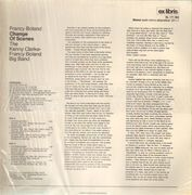 LP - Stan Getz, Francy Boland, Kenny Clarke - Change of Scenes