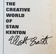 LP - Stan Kenton And His Orchestra - Artistry In Bossa Nova - Signed by Elliott Erwitt