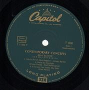LP - Stan Kenton - Contemporary Concepts - original 1st us