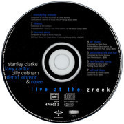 CD - Stanley Clarke , Larry Carlton , Billy Cobham , Deron Johnson & Najee - Live At The Greek