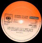 LP - Stanley Clarke - Journey To Love
