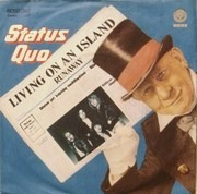 7'' - Status Quo - Living On An Island