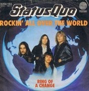 7'' - Status Quo - Rockin' All Over The World