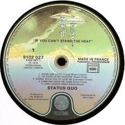LP - Status Quo - If You Can't Stand The Heat - France