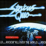 LP - Status Quo - Rockin' All Over The World