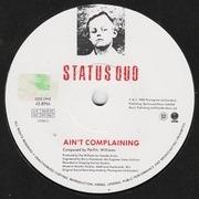 7'' - Status Quo - Ain't Complaining