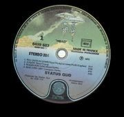 LP - Status Quo - Hello! - embossed cover