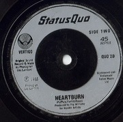 7'' - Status Quo - In The Army Now - Silver Injection Labels