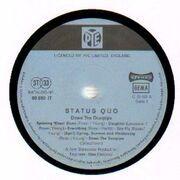 LP - Status Quo - Ma Kelly's Greasy Spoon - blue pye