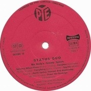 LP - Status Quo - Ma Kelly's Greasy Spoon - German Pye A1 B1