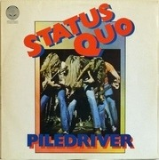 LP - Status Quo - Piledriver - ISRAEL SWIRL