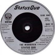 7'' - Status Quo - The Wanderer