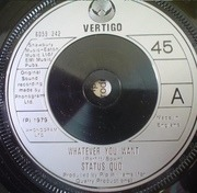 7'' - Status Quo - Whatever You Want